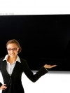 Black Magnetic Glassboard